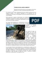 Contaminación del medio ambiente 1