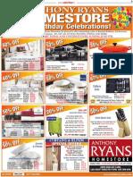 Anthony Ryans Home Store Birthday Celebrations Offers.