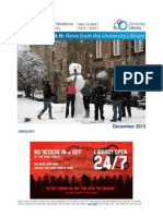 Library Newsletter December 2012