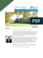 Library Newsletter April 2012