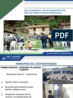 Historia fundación Coop. los Andes.