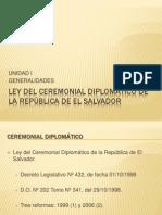1.7 Ley del Ceremonial de la República