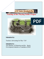 Fencing of the Playing Fields Project[B]A