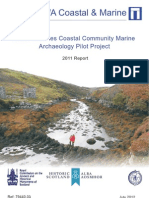 Outer Hebrides Coastal Community Marine Archaeology Pilot Project. Year 1 - 2011