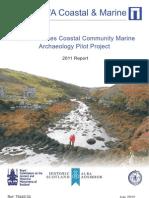 Outer Hebrides Coastal Community Marine Archaeology Pilot Project. Year 1 - 2011