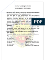 Frequently Asked Questions On NBI Clearance Processes