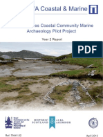 Outer Hebrides Coastal Community Marine Archaeology Pilot Project. Year 2 – 2012-13