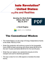 The Shale Revolution in the US