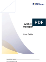 Archive Manager User Guide