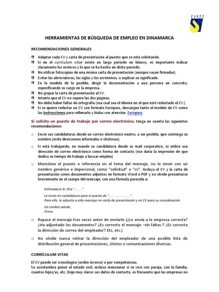Perfecto Carta De Presentación Del Correo Electrónico Con Un ...