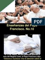 Enseñanzas del Papa Francisco - nº 10