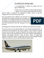 The Story Behind Jet Airways Logo