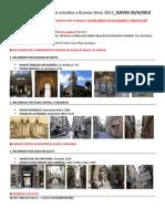 Viaje de Estudios Pasajes de Bs as 2013 - Itinerario