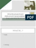 Poltranas Dan Peranan Mahasiswa Dalam Poltranas