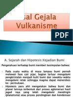 2. Asal Gejala Vulkanisme