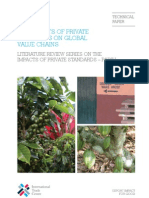 Impacts of Private Standards on Global Value Chains