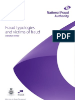Fraud Typologies