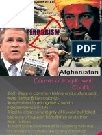 Causes of Iraq-Kuwait Conflict