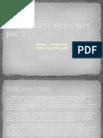 Hipertensi Menurut Jnc Vii