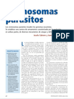 CROMOSOMAS PARASITO
