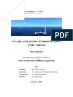 Master Thesis Floating Wind Turbine