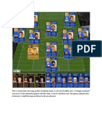 An Epic Team That I Am Using on Fifa 13 Ultimate Team