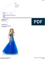 Prom Blue Dress _ We Heart It