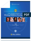 2012 Missing Children Clearinghouse Annual Report
