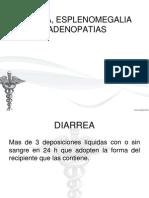 Diarrea, Esplenomegalia y Adenopatias...
