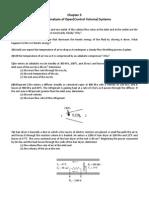 Energy analysis of control volumes