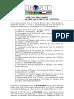Acta Plenario Sc