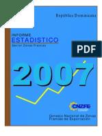 Informe Estadistico 2007 en Espanol