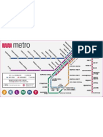 Muni Metro Map (San Francisco Light Rail)
