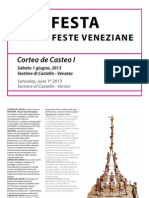 BROCHURE CORTEO DE CASTEO I