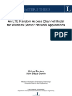 An LTE Random Access Channel Model for Wireless Sensor Network Applications (Thesis_2012)