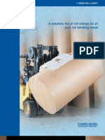 Brochure Paper Roll Clamps