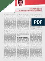 HISTORISCHE PARALLELEN DES EUROSYSTEMS