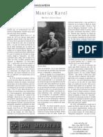 Maurice Ravel, Por Pedro Navarro Ruano