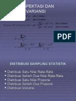 Bab 6. Distribusi Sampling Statistik - TI 08 Sore