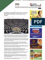 23-05-13 Senadoras evaluan convenios de DH y  comercio con Europa - Telemundo atlanta
