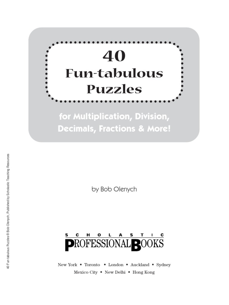 worksheet Math Worksheet Did You Hear About Answers 40 fun tabulous math puzzles fraction mathematics division mathematics