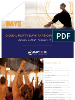 Digital 40 Days Packet