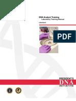 Manual Entrenamiento Laboratorio DNA Literatura