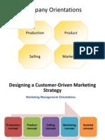 2. Marketing Orientations