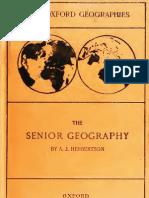 The Senior Geography 1919