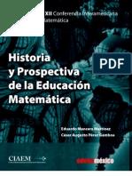Historia de La Educacion Matematica