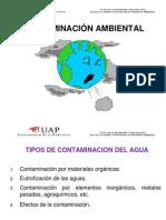 CA SEM3  Tipos de Contaminación del Agua1