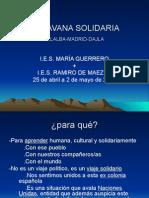 Caravana Solidaria 2009