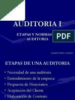 Etapas de Audiotoria