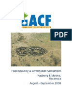 ACF Karamoja FS Assessment Report Final
